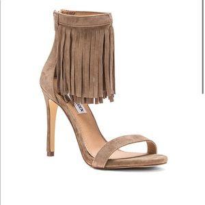 Steve Madden Starz Leather Heels, 6.5